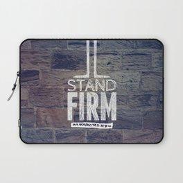 Stand Firm - 1 Corinthians 16:13 Laptop Sleeve