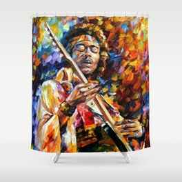 Halo Jimi Shower Curtain