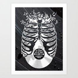 Til Death do us part. (v2) Art Print