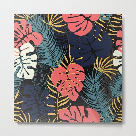 Tropical pattern 048 Metal Print