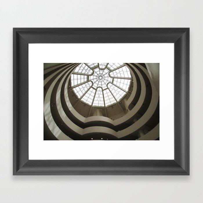 Guggenheim 02 Framed Art Print