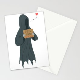 Dementor's Kiss Stationery Cards