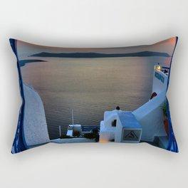Santorini 15 Rectangular Pillow
