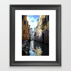 Painted Water Framed Art Print