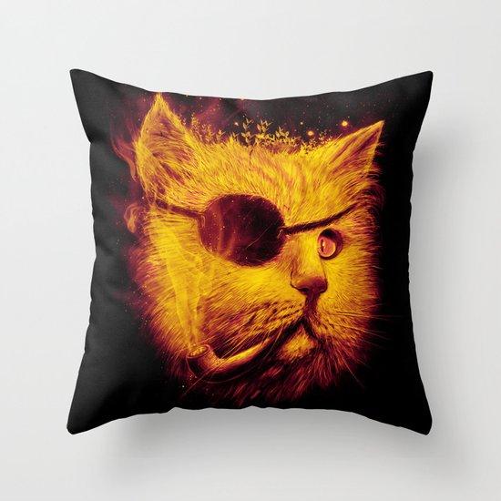 Irie Eye Throw Pillow