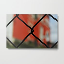 The Other Side of the Law Metal Print