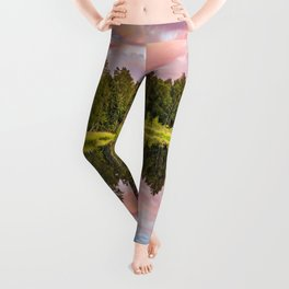End of the summer day Leggings