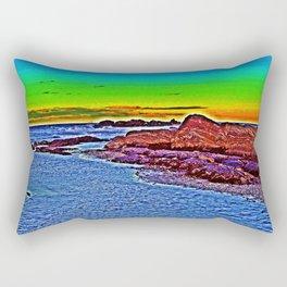 Saturated Surf  Rectangular Pillow