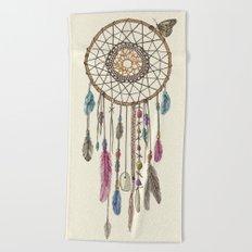 Lakota (Dream Catcher) Beach Towel