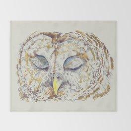 Arthur Owl Throw Blanket