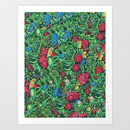 Botânica Art Print