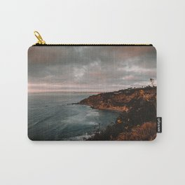 California Coastline Sunset II Carry-All Pouch
