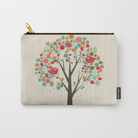 Home Birds Carry-All Pouch