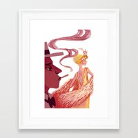 the great gatsby Framed Art Prints featuring Great Gatsby by Van Huynh
