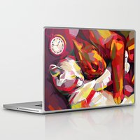 cuddle Laptop & iPad Skins featuring Cuddle Time by Travis Clarke