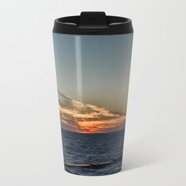 Summer sunset on lake Ontario Travel Mug