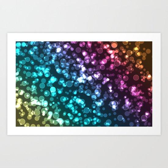 Colourful.  Art Print