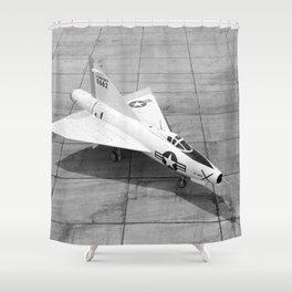 Convair XF-92A Shower Curtain