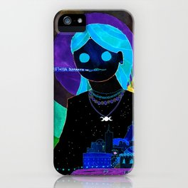 Summer Night Goddess iPhone Case