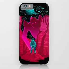 Astronauts Encounter iPhone Case