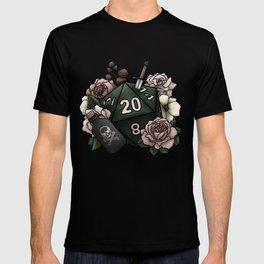 Rogue Class D20 - Tabletop Gaming Dice T-shirt