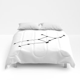 Virgo Astrology Star Sign Minimal Comforters