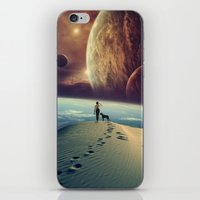 dog iPhone & iPod Skins featuring Explorer by POP.