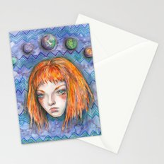 Leeloo, the Supreme Being Stationery Cards
