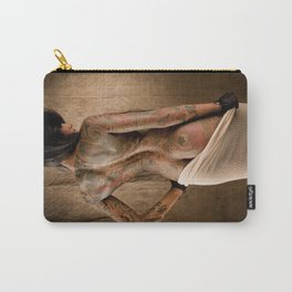 Lepa in Cotton Carry-All Pouch