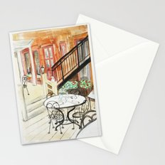 Afternoon At Maxfields  Stationery Cards