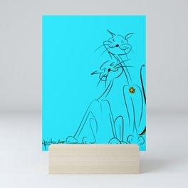 scratchy Mini Art Print