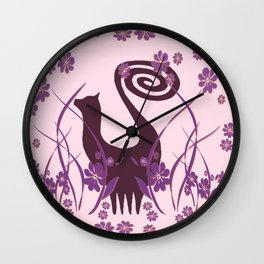 Snooty Garden Wall Clock