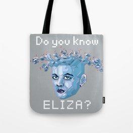 A.I. ELIZA Tote Bag