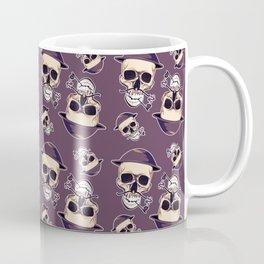 smoking skull Coffee Mug