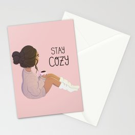 Stay Cozy Stationery Cards