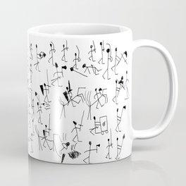 Stick knights (black) Coffee Mug