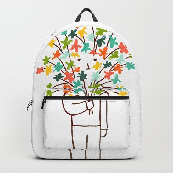 I bring flowers Backpack
