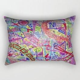 Brain Dump Rectangular Pillow