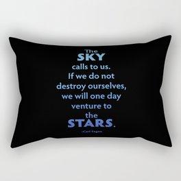 The Sky Calls to Us Rectangular Pillow