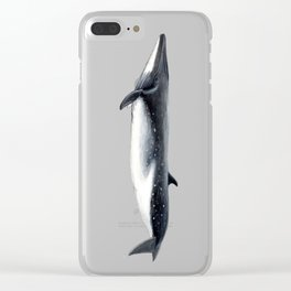 Bryde´s whale Clear iPhone Case