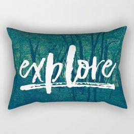 Explore: The Woods Rectangular Pillow