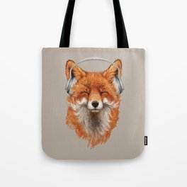 The Musical Fox Tote Bag