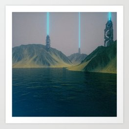 Future Hills_004 Art Print