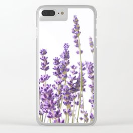 Purple Lavender #1 #decor #art #society6 Clear iPhone Case