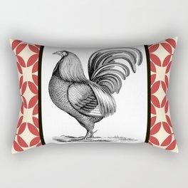 Chicken Patchwork Rectangular Pillow