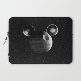 That's no moon... Disney Death Star Laptop Sleeve