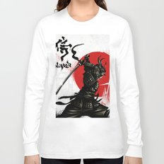 Samurai Invader Long Sleeve T-shirt