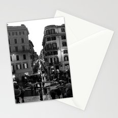 Rain in Rome Stationery Cards