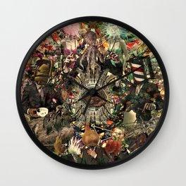 Mandara [Sufferings caricature] Wall Clock