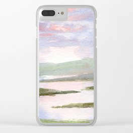 Imaginary Landscape Clear iPhone Case